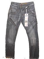 Мужские джинсы темно-серые 1197