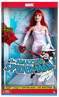 Коллекционная кукла Барби Мэри Джейн Человек-паук Свадьба Barbie Mary Jane & Spiderman Wedding 2005 Mattel, фото 1