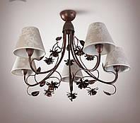 Люстра для зала, большой комнаты 5-ти ламповая