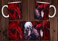 """Чашка """"Токийский гуль Tokyo Ghoul"""" №3"""