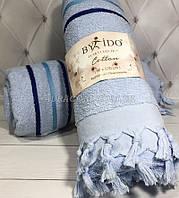 Светло голубая пляжная подстилка-полотенце, By ido, Турция
