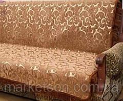 Покрывало дивандек полуторное 150х200 шенилл, фото 3