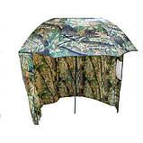 Зонт палатка для рыбалки окно d2.2м SF23817 Дубок Хаки, фото 2