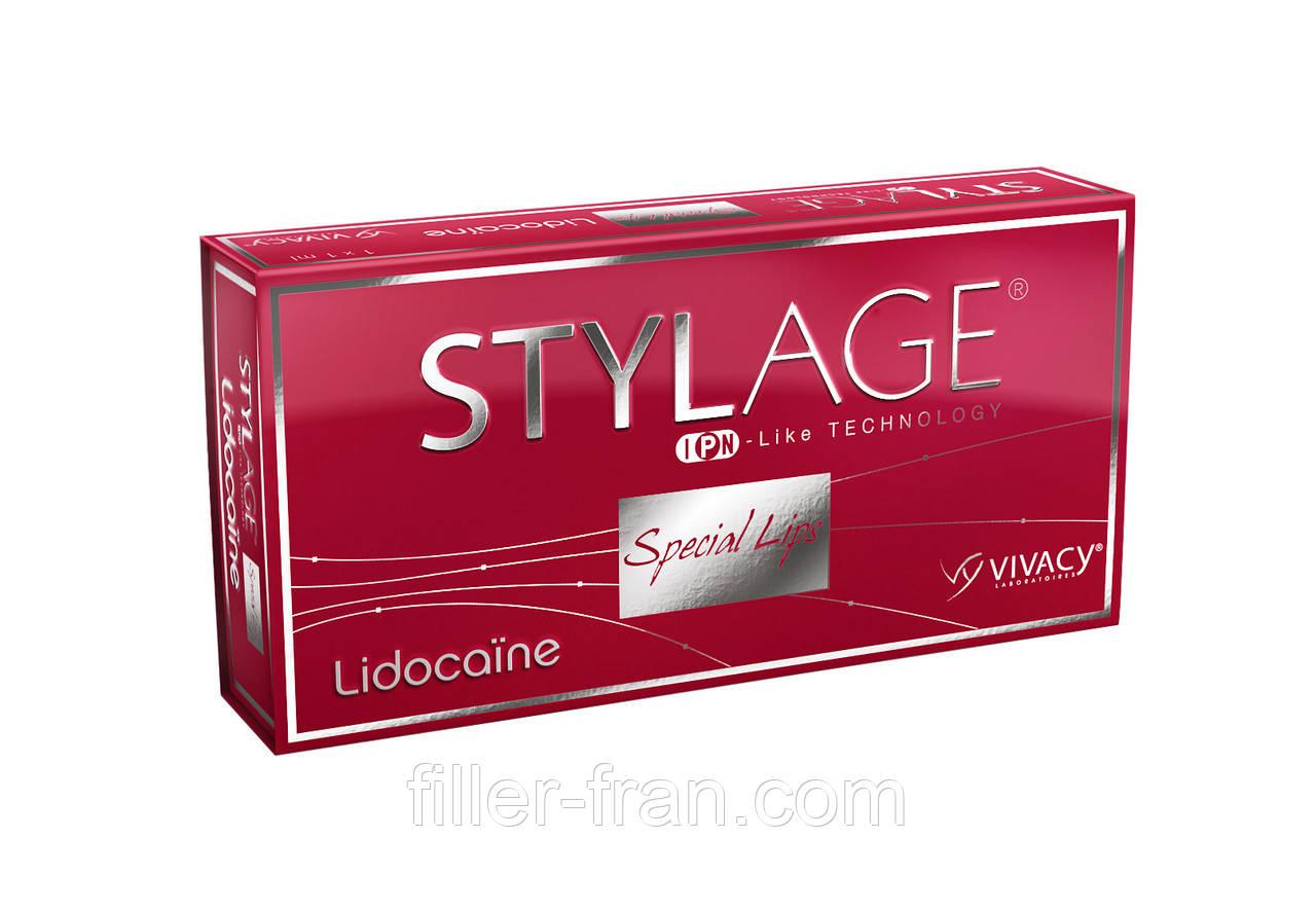 Филлер для губ Стилейдж Липс лидокаин - 1Х1мл