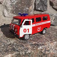 Машинка УАЗ 2206 Буханка Красная
