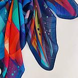 10863-14, павлопосадский платок шерстяной (разреженная шерсть) с швом зиг-заг, фото 4