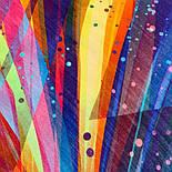 10863-14, павлопосадский платок шерстяной (разреженная шерсть) с швом зиг-заг, фото 5