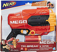 Бластер Нерф Мега Три-Брейк Nerf N-Strike Mega Tri-Break