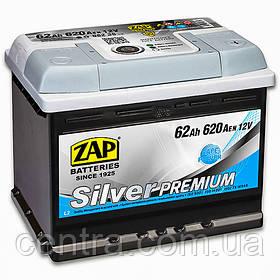 Автомобильный аккумулятор ZAP SILVER PREMIUM 6СТ-62 R+ 620A