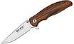 Нож складной для походов, охоты и экстремальных ситуаций. Сталь 8Cr13MoV.  Рукоять деревянная, фото 3