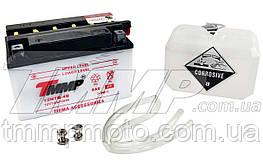 Аккумулятор 12v7a.h. сухозаряженный с электролитом   TMMP