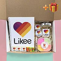 Слайм Likeе Box (Slime Лайк Бокс) Наборй Лайк в подарочной коробке Likee
