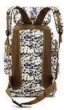Рюкзак туристический xs1725-2 черный, 70 л, фото 3