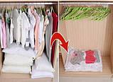 Вакуумный пакет для хранения одежды 80х110см, фото 4
