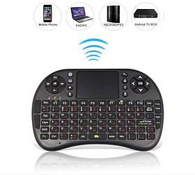 Бездротова клавіатура Rii mini i8 2.4 GHZ UKR