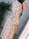 """Шикарное женское длинное платье с пояском """"Брилл"""", фото 4"""