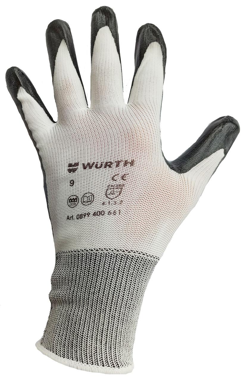 Перчатки WURTH Nitrilon Plus