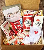 """Подарочный набор для девушки """"Вишнёвое наслаждение"""" . Подарок для девушки"""