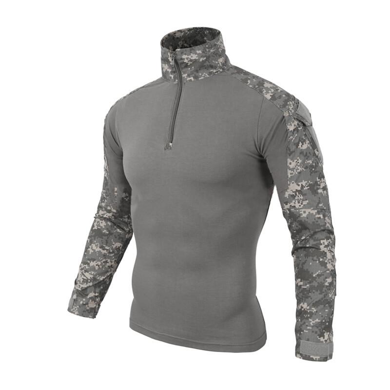 Тактическая рубашка ESDY A655 Camouflage UCP XL (36 р.) мужская милитари с длинным рукавом камуфляж армейская