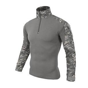 Тактическая рубашка ESDY A655 Camouflage UCP XL (36 р.) мужская милитари с длинным рукавом камуфляж армейская, фото 2