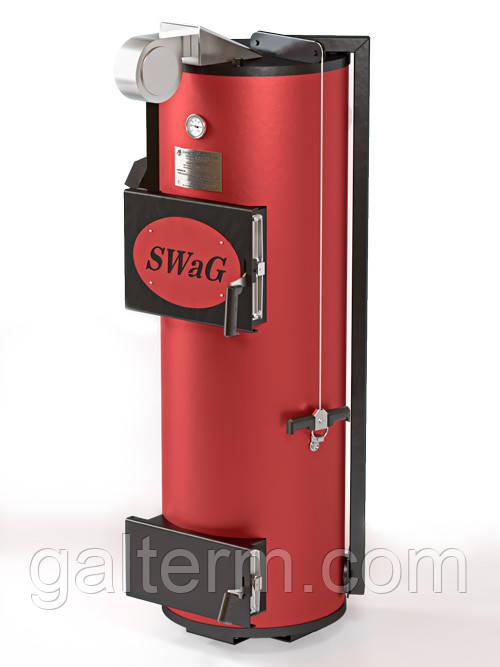 Котел твердопаливний SWaG 40кВт D дрова
