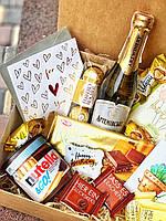 Подарочный набор для девушки «Золотое сердце». Подарок для девушки