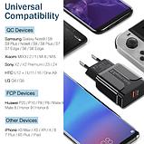 Быстрое зарядное устройство YKZ Quick Charge 3.0 3А 18Вт адаптер питания СЗУ, фото 3