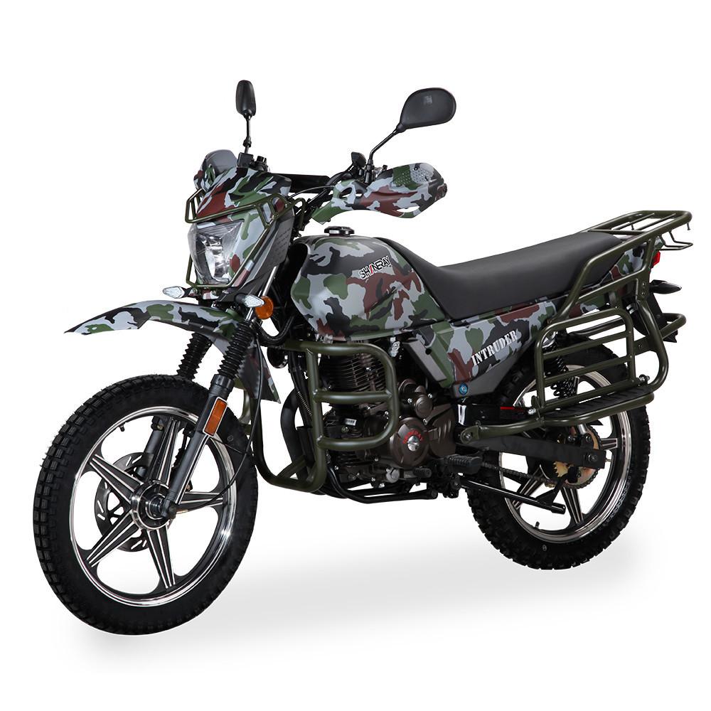 Мотоцикл Shineray XY 200 Intruder Хакі камуфляж