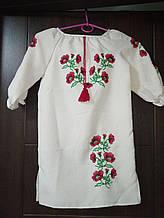 Українська вишиванка с маками - размер XS (42)