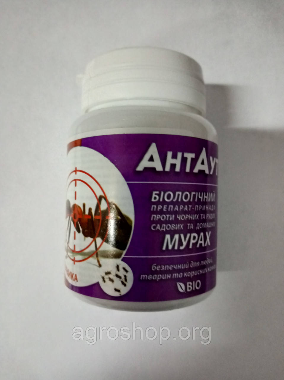 Антаут, биологический препарат от муравьев, 40 гр