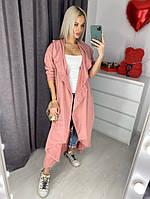Женский стильный кардиган на пуговицах сбоку, фото 1
