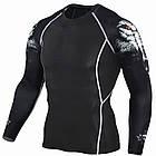 Компрессионная кофта мужская, реглан для бега, тренировок, велопрогулок ХЛ