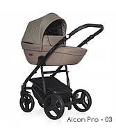 Детская универсальная коляска 2 в 1 Riko Basic Aicon Pro - 03