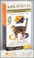 Біоритм для котів зі смаком курки 48 таблеток