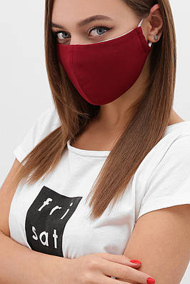 Защитная маска на лицо многоразовая из ткани