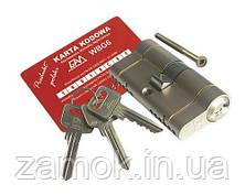Циліндр Gamet 41*31б 6 ключів, фото 2