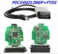 Автосканер Els27  FTDI Chip PIC24HJ128GP