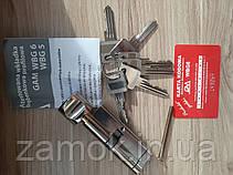Циліндр Gamet 36*36б 6 ключів, фото 3