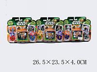 "Конструктор ""STAR WARS"", 3 вида, на планш. 26х23х4 /144-2/"