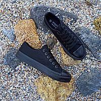 Черные кеды конверсы в стиле Converse all star кеды сетка низкие конверы кроссовки текстиль