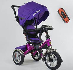 Трехколесный велосипед Best Trike 5890 фиолетовый