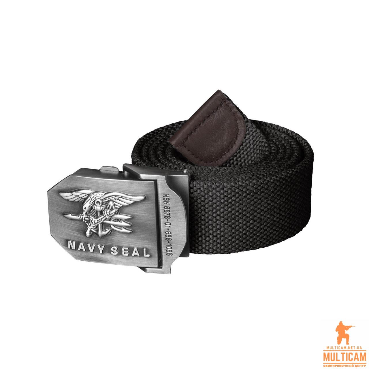 Ремень Helikon-Tex® NAVY SEALs Belt - Cotton - Black