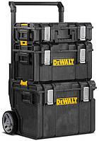 Комплект ящиков DeWALT 2 ящика + ящик-тележка в системе TOUGHSYSTEM (DWST1-81052)