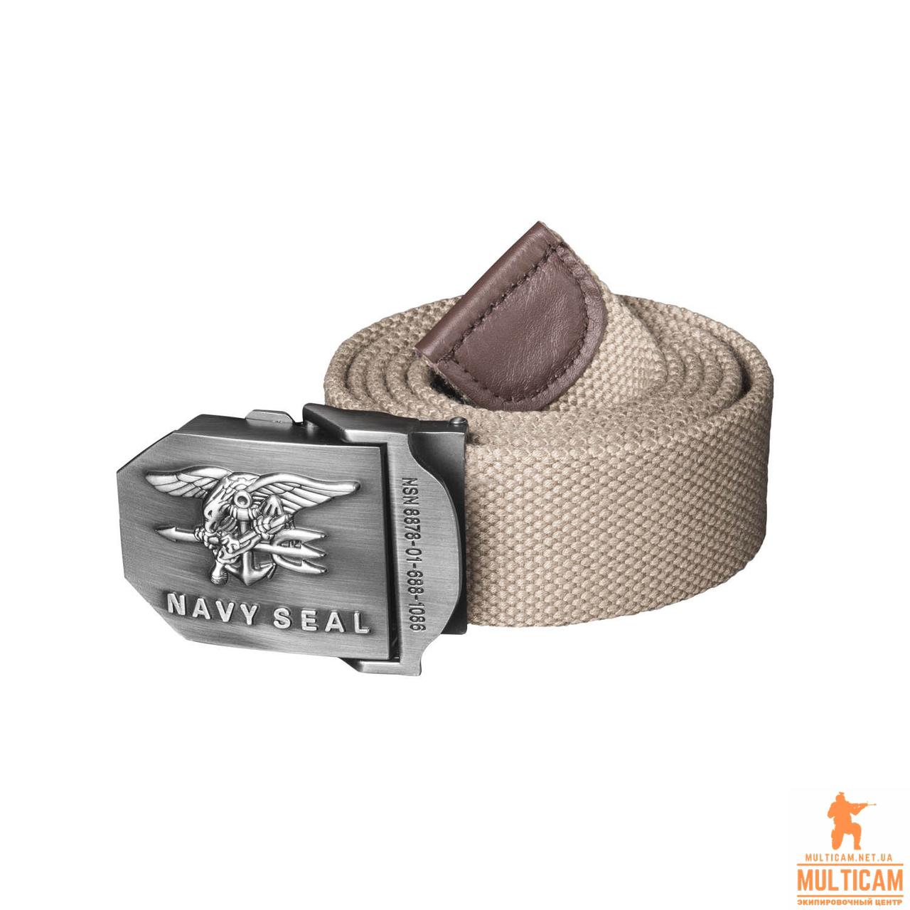 Ремень Helikon-Tex® NAVY SEALs Belt - Cotton - Khaki