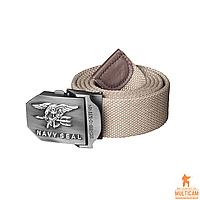 Ремень Helikon-Tex® NAVY SEALs Belt - Cotton - Khaki, фото 1