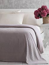Покрывало велюровое 220x240 Pavia Simone gri серый