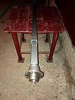 Балка для прицепа квадратная, усиленная (толщина 6 мм) со ступицами шплинтованными АТВ-155 (01Р)