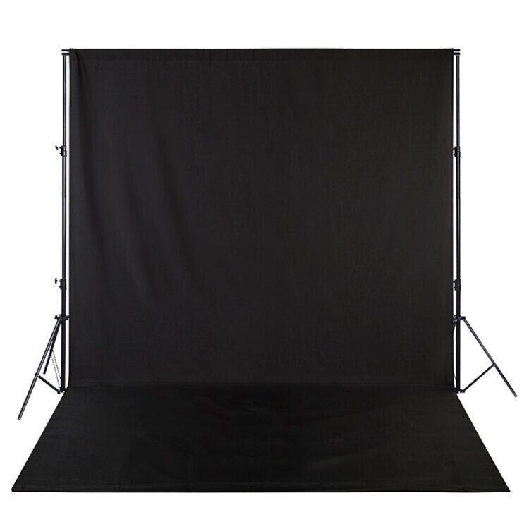 Фотофон тканевый Черный 280см(Д)×180 см(Ш)