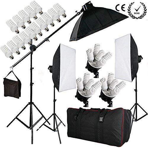 Набір постійного студійного світла на 5 ламп FST PHOTO 0025 MAX