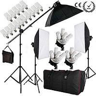 Набір постійного студійного світла на 5 ламп FST PHOTO 0025 MAX, фото 1